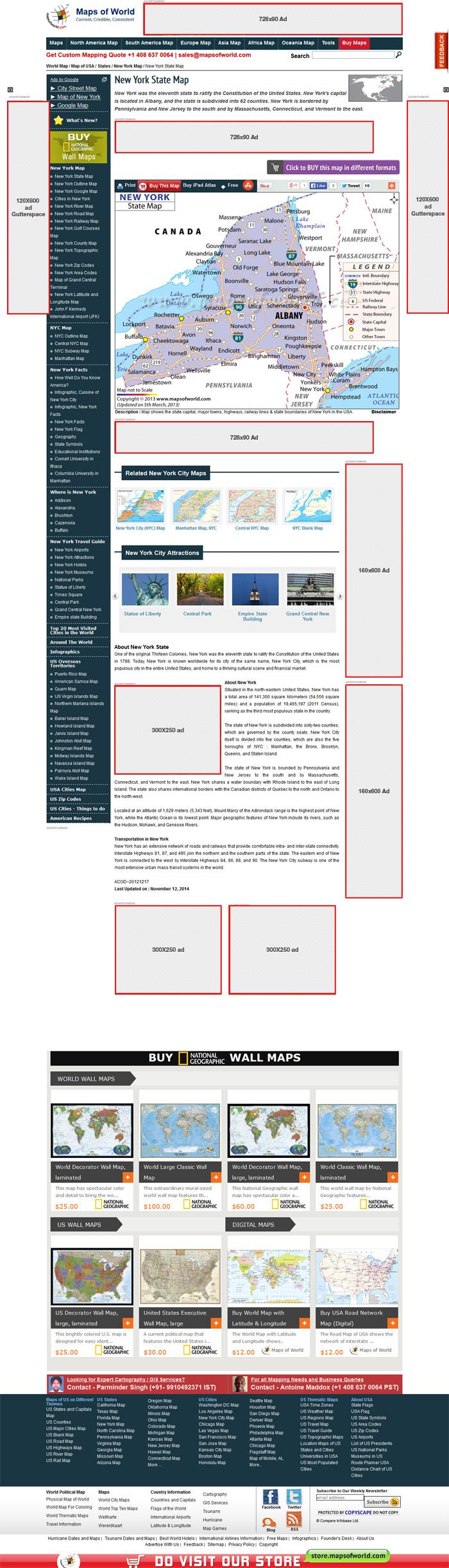 Advertise Online, Advertise on MapsofWorld
