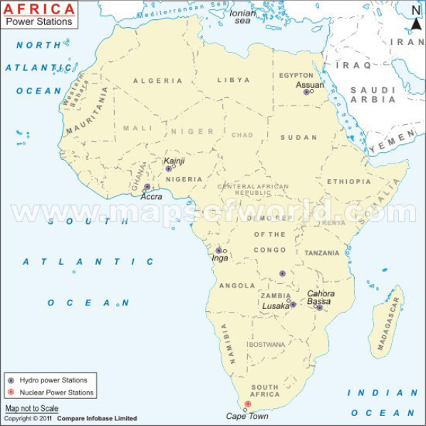 Africa Power Stations