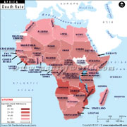 African Countries by Death Rate