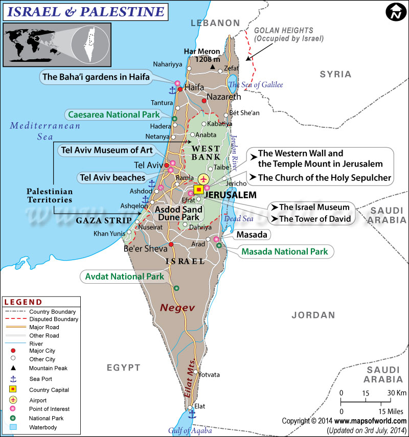 Map of israel and palestine israel palestine map map of israel and palestine gumiabroncs Gallery