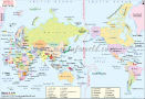 Asia Pacific Centric World Map