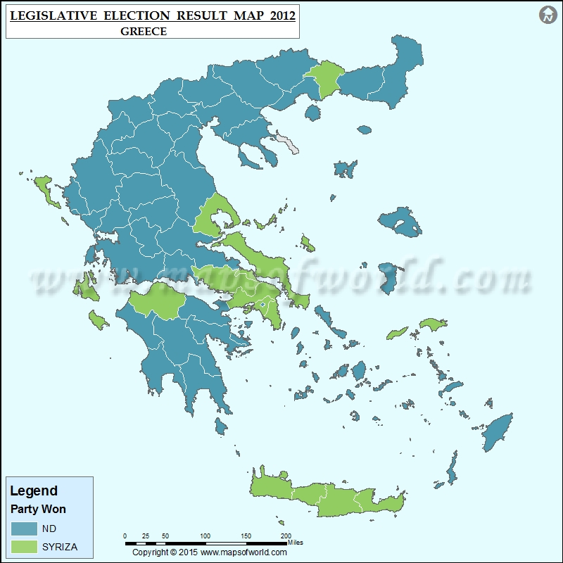 Greek Election Results 2012