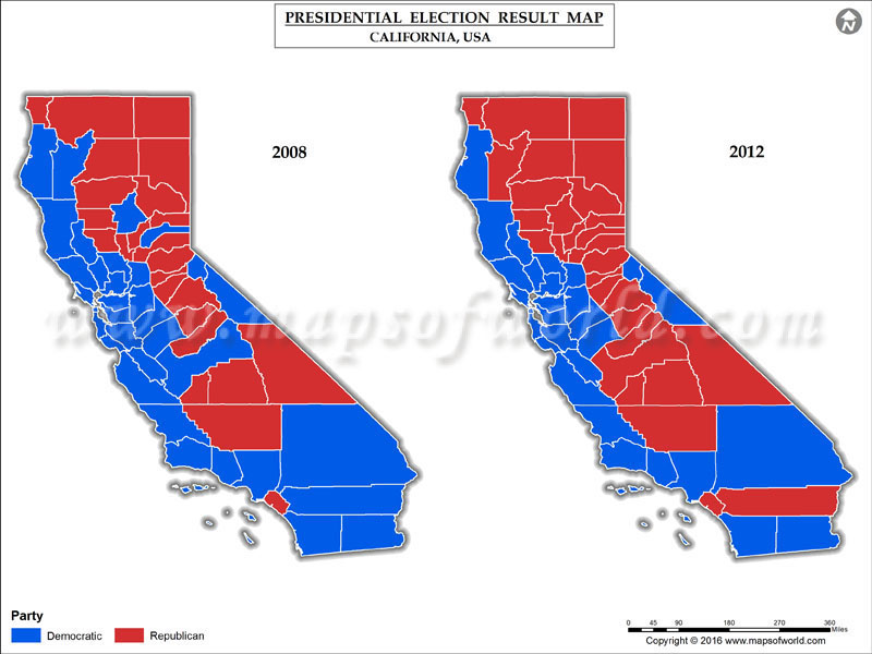 California Election Results 2016 Map Ca County Results Live Updates