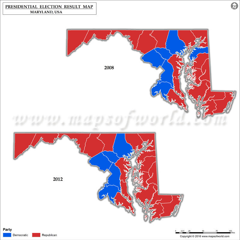 Maryland 2016 Election Results By County - Excellent Electrical ...