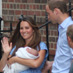Princess Kate and Prince William celebrated the birth of a baby girl - May 2, 2015