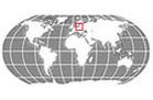 Globe Locator Latvia