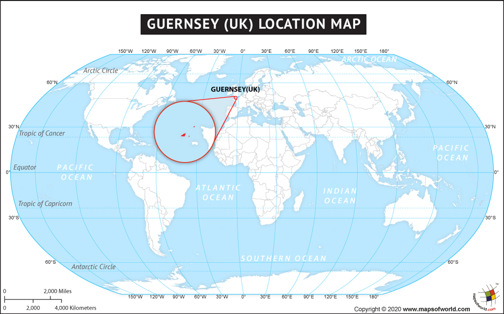 Where is Guernsey