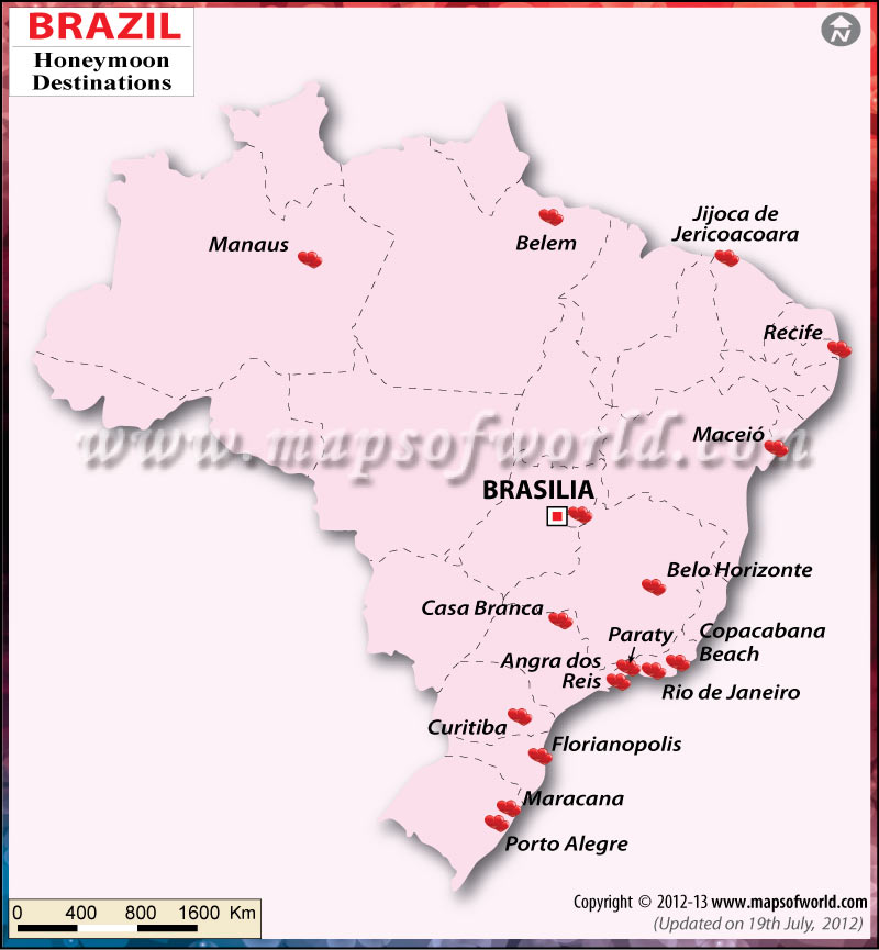 Brazil Honeymoon Destinations