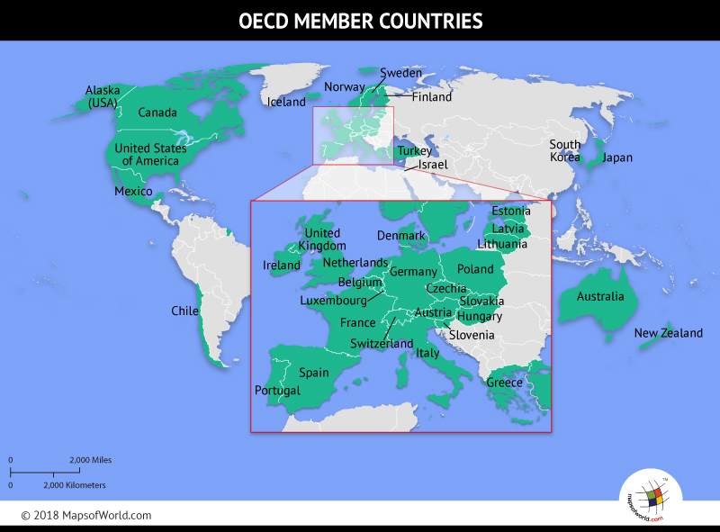 Oecd member countries map gumiabroncs Image collections