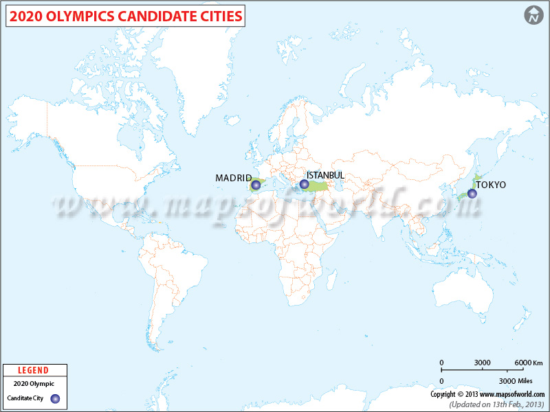 2020 Olympic candidate city