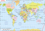 World Latitude Longitude Map