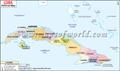 Cuba  Political  Map