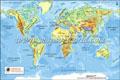 Digital World Physical Map