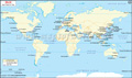 World Seaports Map