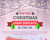 Infographic on Best Christmas Lights Displays