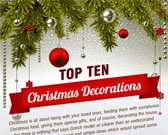 Infographic on Christmas Decorations
