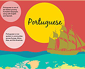 Infographic of Portuguese Language