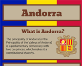 Infographic of Andorra Facts