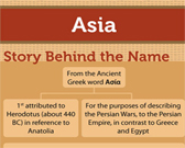 Infographic of Asia Facts