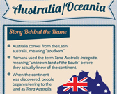 Infographic of Australia Fast Facts