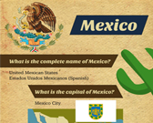 Infographic of Mexico Facts