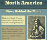 Infographic of North America Fast Facts