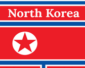 Infographic of North Korea Fast Facts