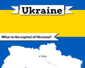 Infographic of Ukraine Fast Facts