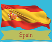 Infographic of Spain Facts