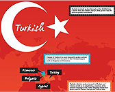 Infographic of Turkish Language