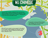 Infographic of Wu Language
