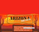 Infographic Of Arizona Fast Facts