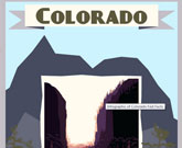 Infographic Of Colorado Fast Facts