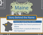 Infographic Of Maine Fast Facts