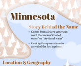 Infographic Of Minnesota Fast Facts