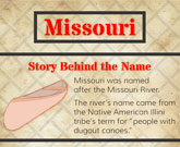 Infographic Of Missouri Fast Facts