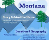 Infographic Of Montanta Fast Facts