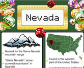 Infographic Of Nevada Fast Facts
