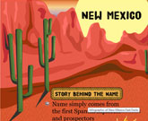 Infographic Of New Mexico Fast Facts