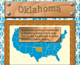 Infographic Of Oklahoma Fast Facts