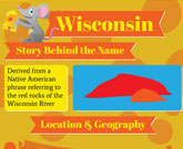 Infographic Of Wisconsin Fast Facts