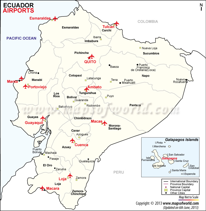 Ecuador Airports