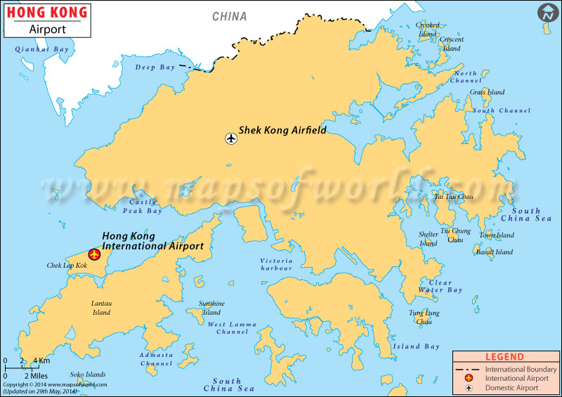 Airports in hong kong hong kong airports map hong kong airport map gumiabroncs Choice Image