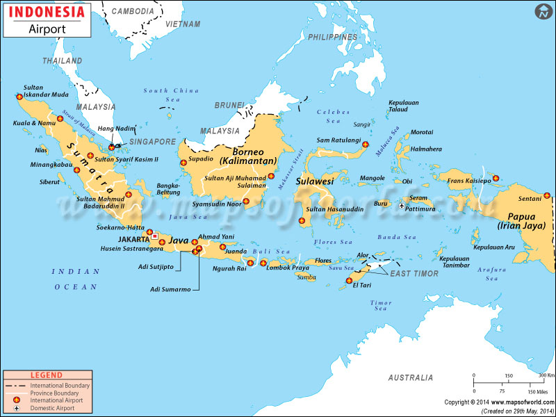 Airports in indonesia indonesia airports map airports in indonesia gumiabroncs Choice Image