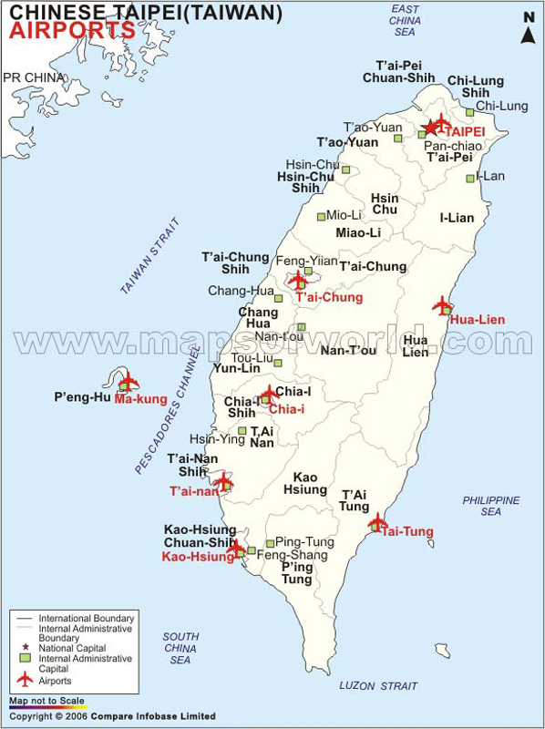 Airports in taiwan taiwan airports map gumiabroncs Choice Image