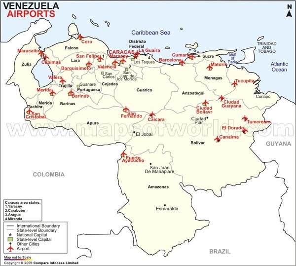 Airports in Venezuela