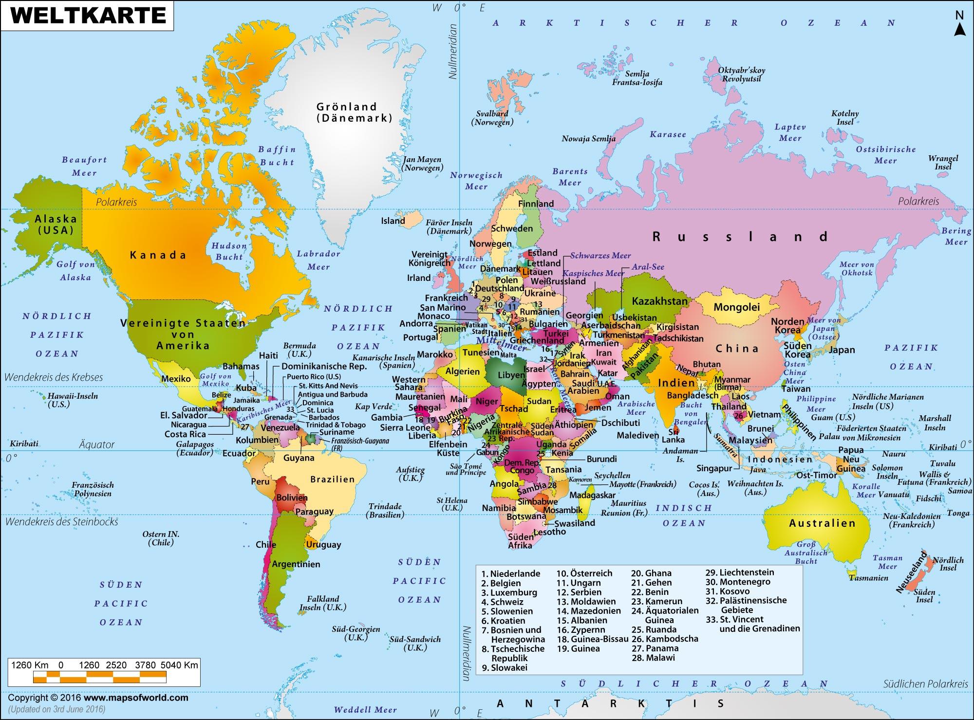 Weltkarte bild - Weltkarte mit fotos ...