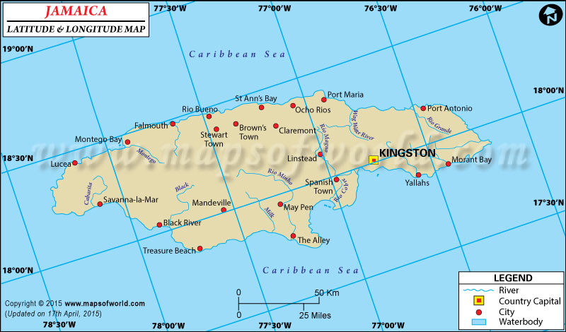 Jamaica latitude and longitude map gumiabroncs Image collections