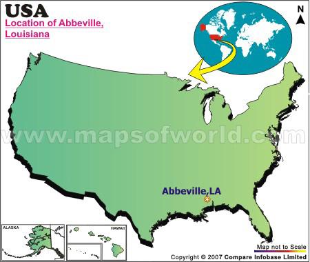 Where is Abbeville , Louisiana