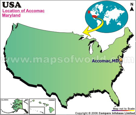 Where is Accomac , Maryland